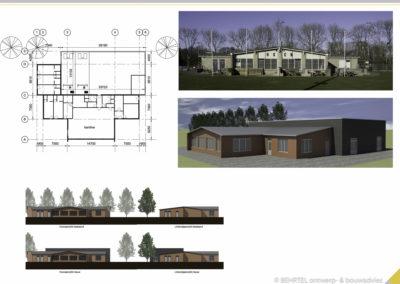 Nieuwbouw trainingshal HSCN